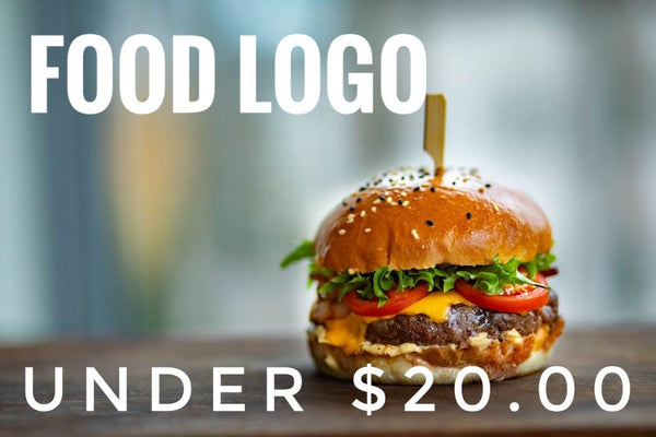 FOOD PRODUCT LOGO UNDER $20.00!!