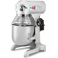 Happybuy Commercial Food Mixer 1100W Dough Mixer Maker 3 Speeds Adjustable Commercial Mixer Grinder 94/165/386 RPM Stand Mixer (30 qt)