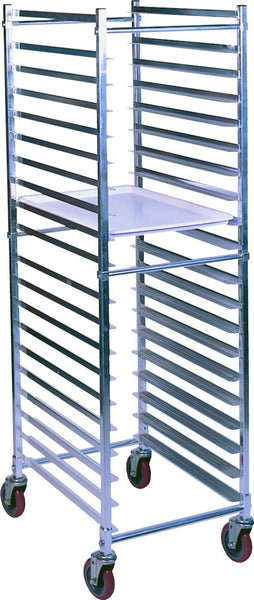Winholt AL-1820BKD/HD Heavy Duty Knockdown Pan Rack