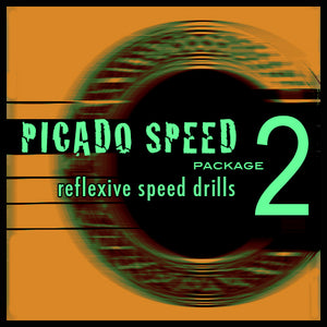 Picado Speed Package 2 - Reflexive Speed Drills