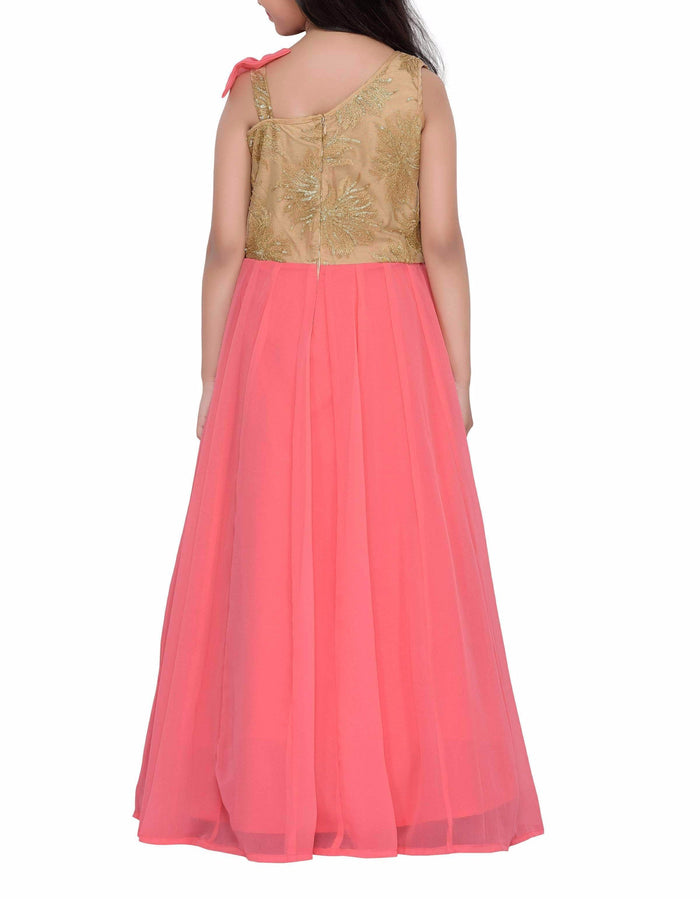 K&U Girls' Georgette Gown Gowns K&U
