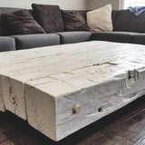 Floating Barn Beam Coffee Table