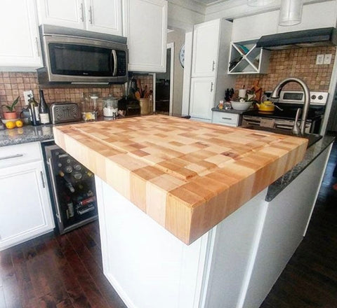 Canadian Ash Butcher Block - Island End