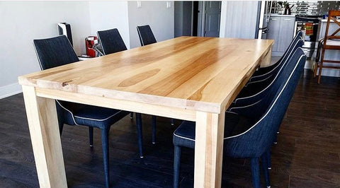 Nordic Dining Table - Ontario Birch