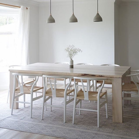 Nordic Dining Table - White Ash