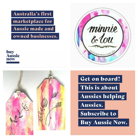 Minnie&Lou part of the BuyAussieNow family!