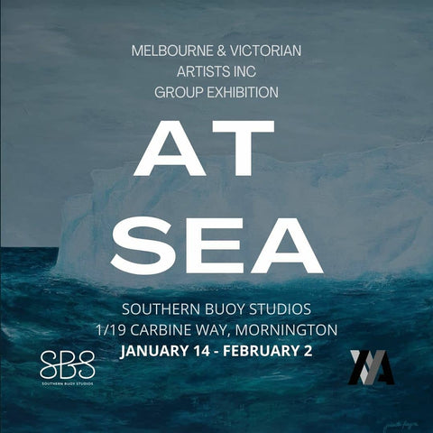 'At Sea' exhibition at Southern Buoy Studios, Mornington