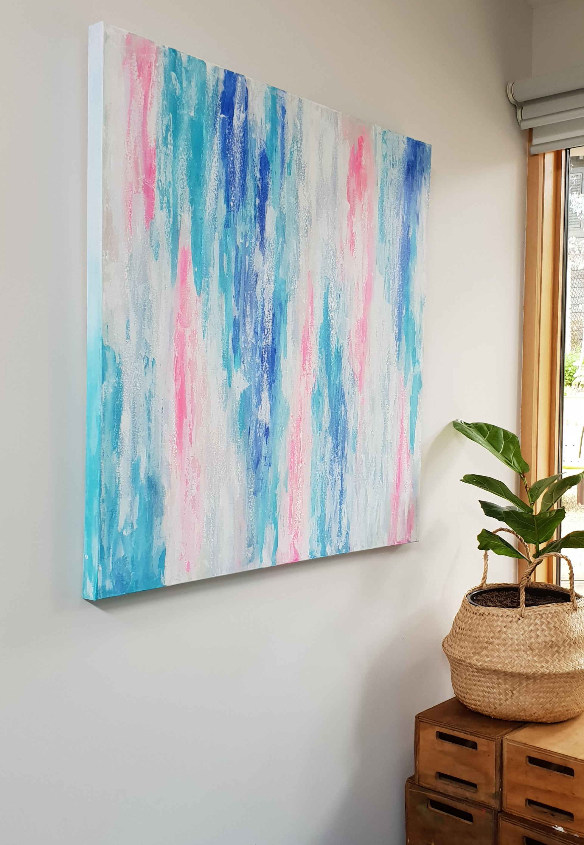 Abstract painting by Jacinta Payne, Melbourne