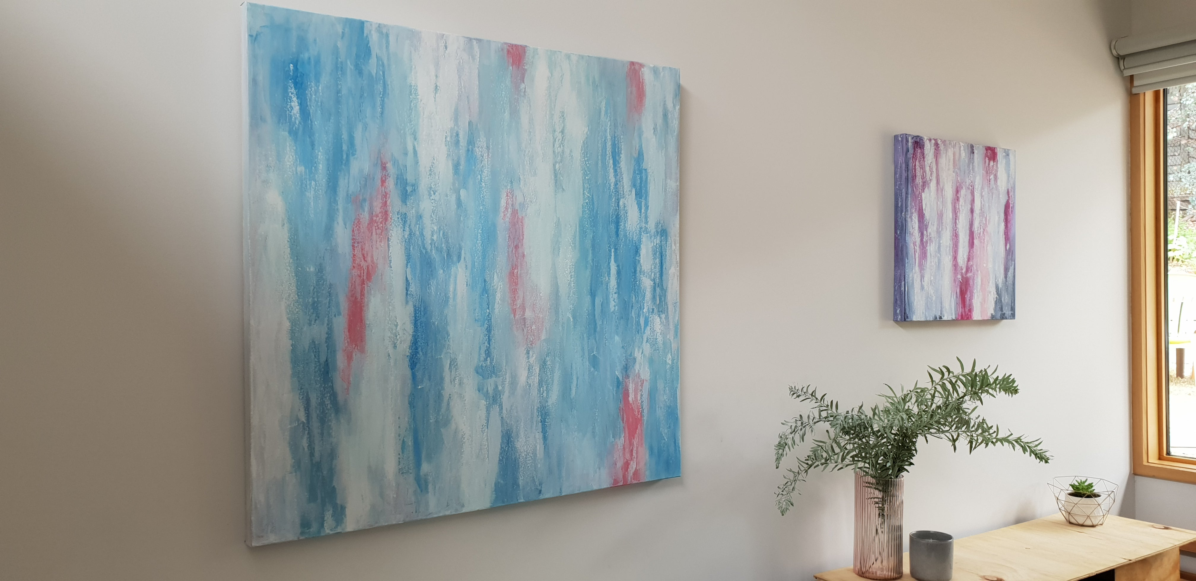 'Moments Like These' Original abstract art work by Jacinta Payne