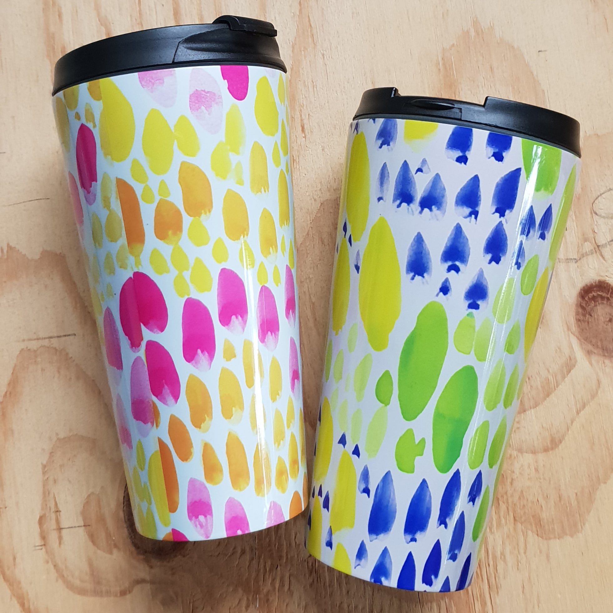 Travel Mug set 'The Bobby' + 'The Florence'