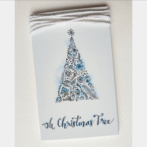 Oh Christmas Tree Gift Tags Set of 5