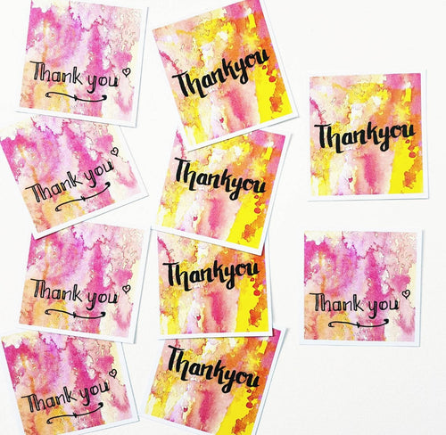Thank you gift tags, Minnie&Lou gift stationery collection