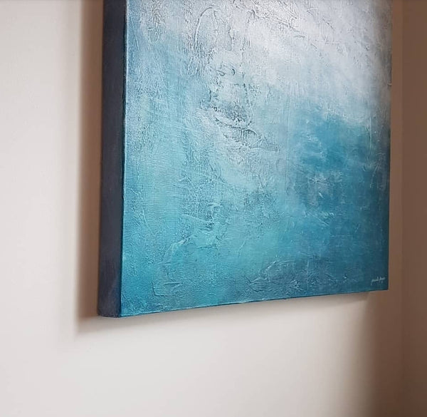 Original art work by Melbourne artist Jacinta Payne. 'Ocean Song'
