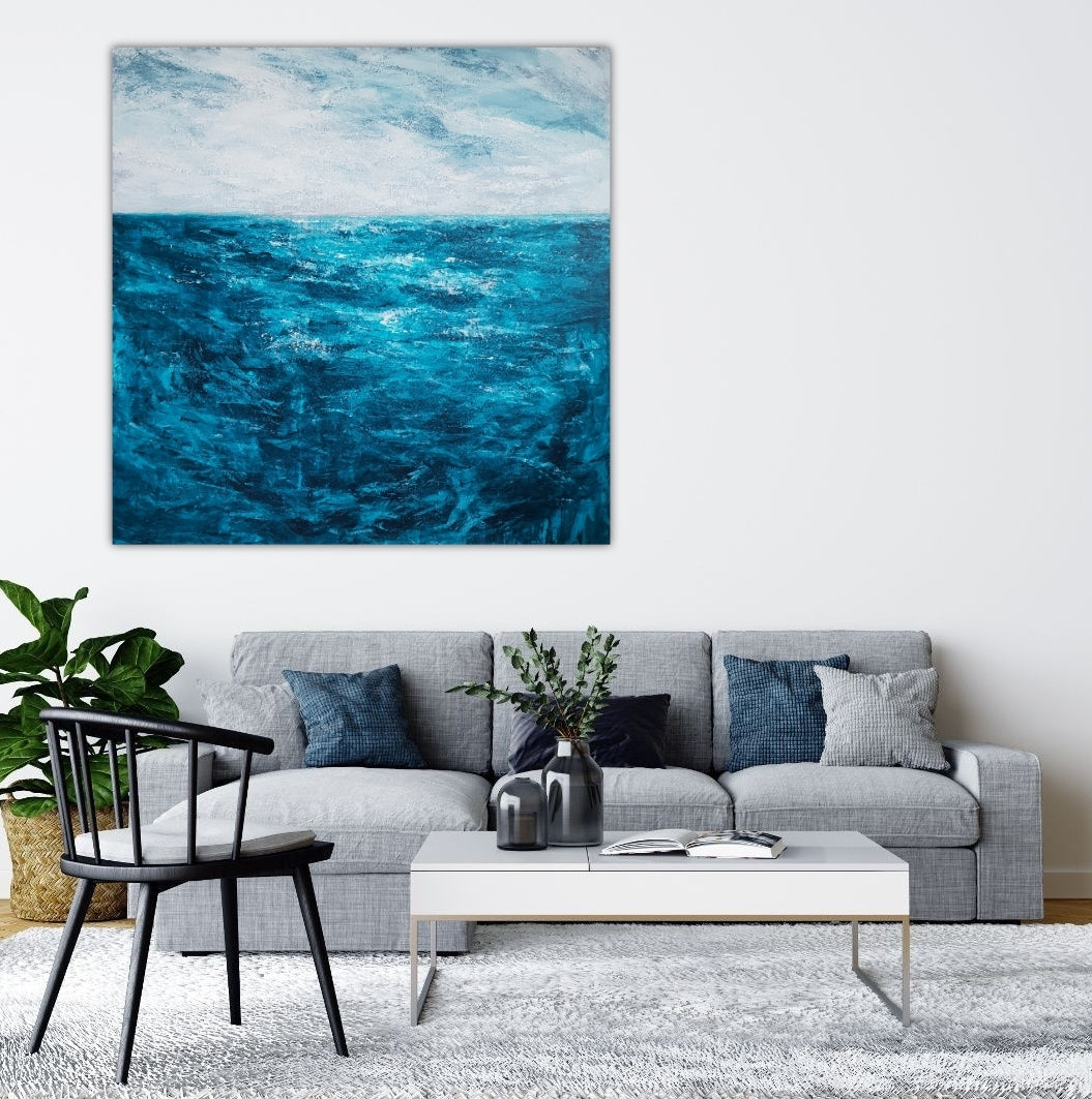 """Bliss II"" Abstract Seascape"