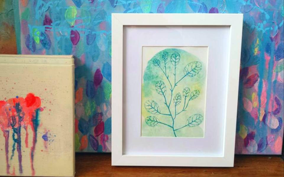 "Botanical Watercolour Art Print ""Spring Vision"" by Jacinta Payne, Melbourne Australia"