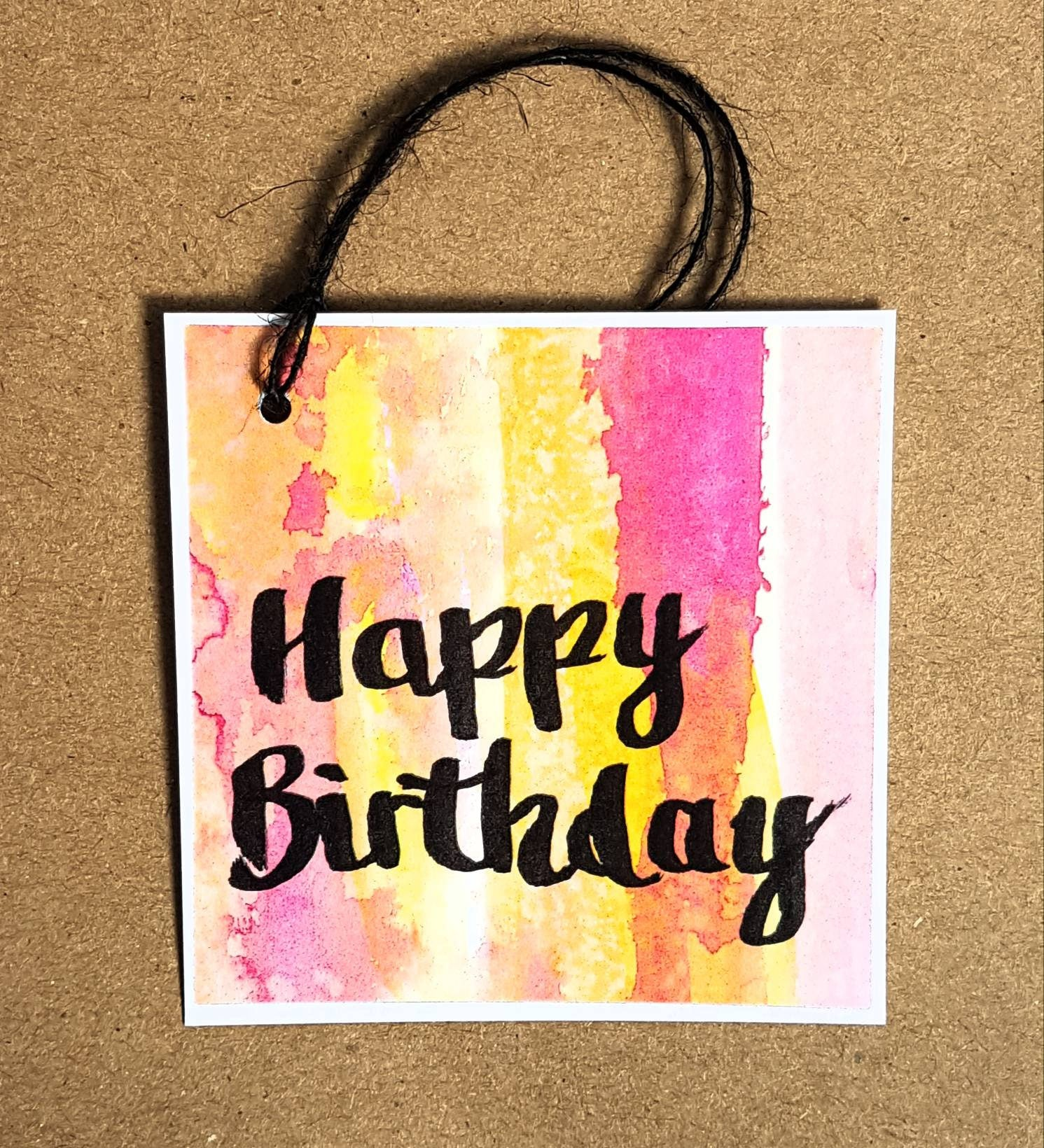 Happy Birthday swing tags to pretty up your gift wrapping!
