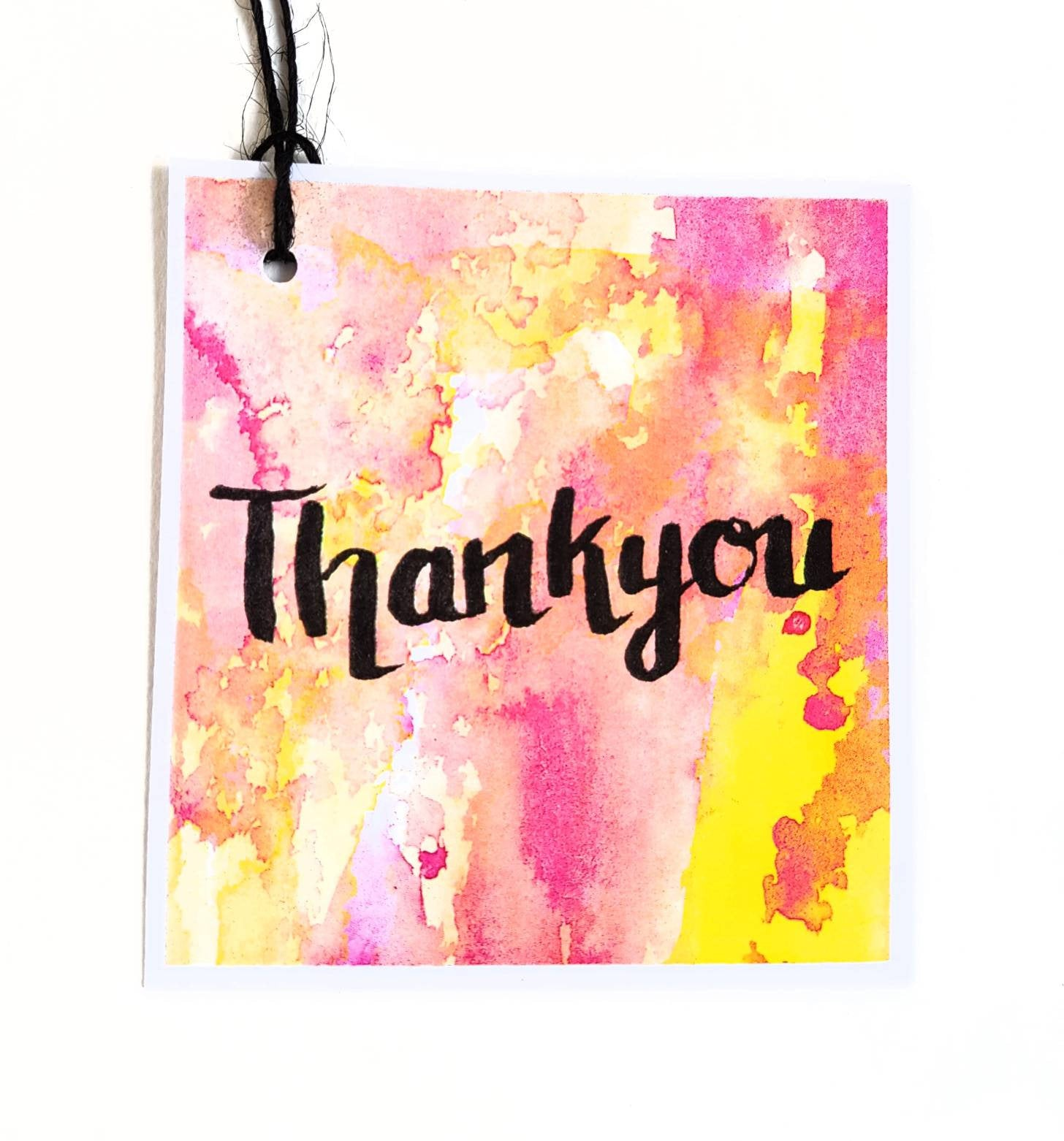 Thank You Gift Tags Set of 5