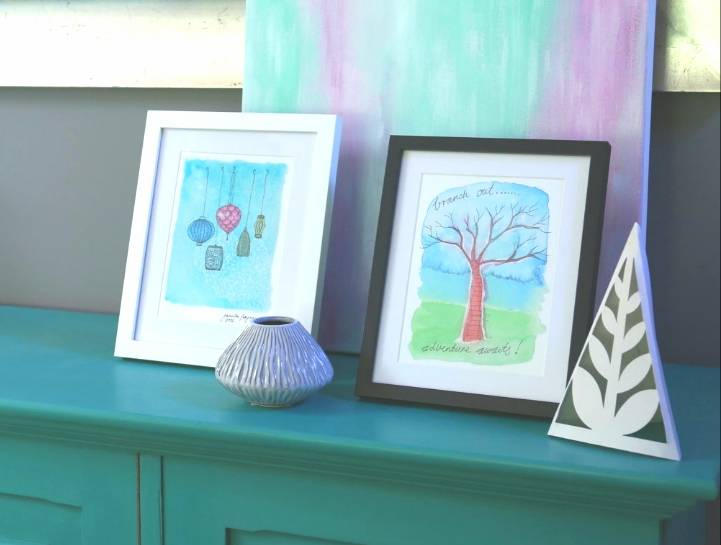 Home styling with affordable art prints