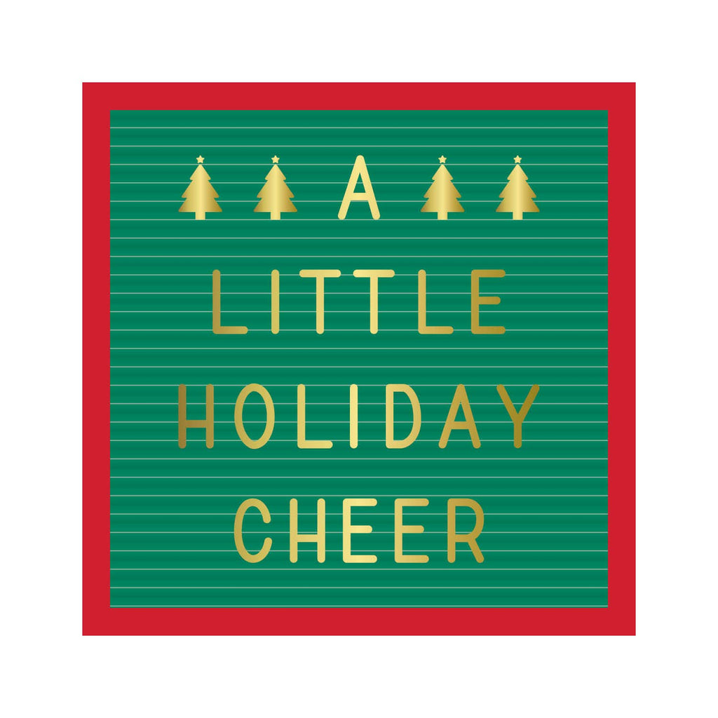 Holiday Cheer - Beverage Napkin
