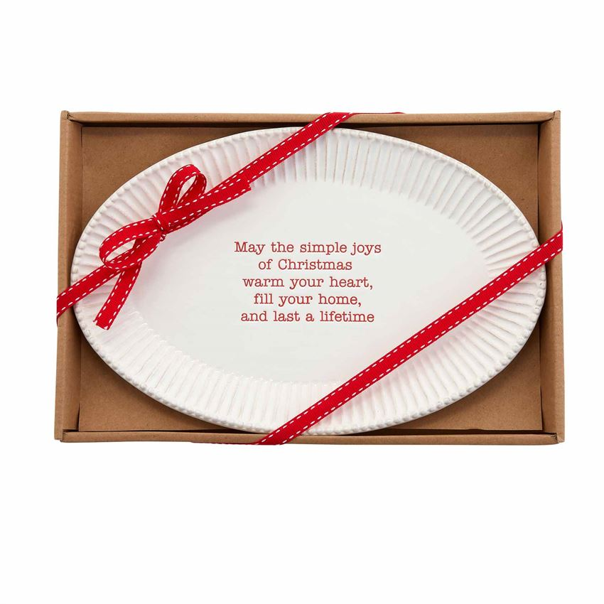 Christmas Sentiment Tray