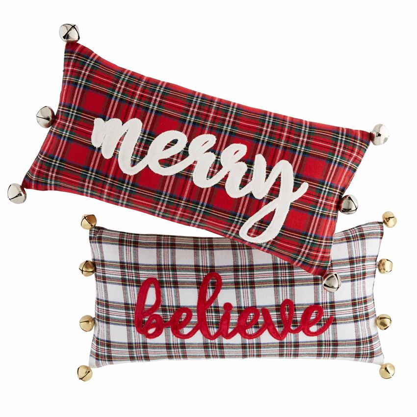 Tartan Bell Pillows