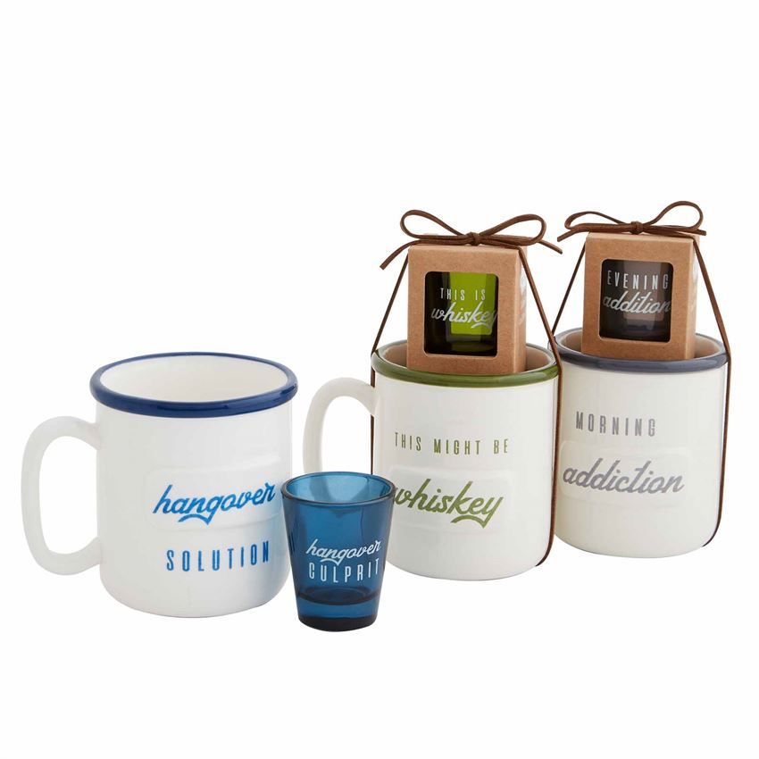 Men's Mug and Shot glass set