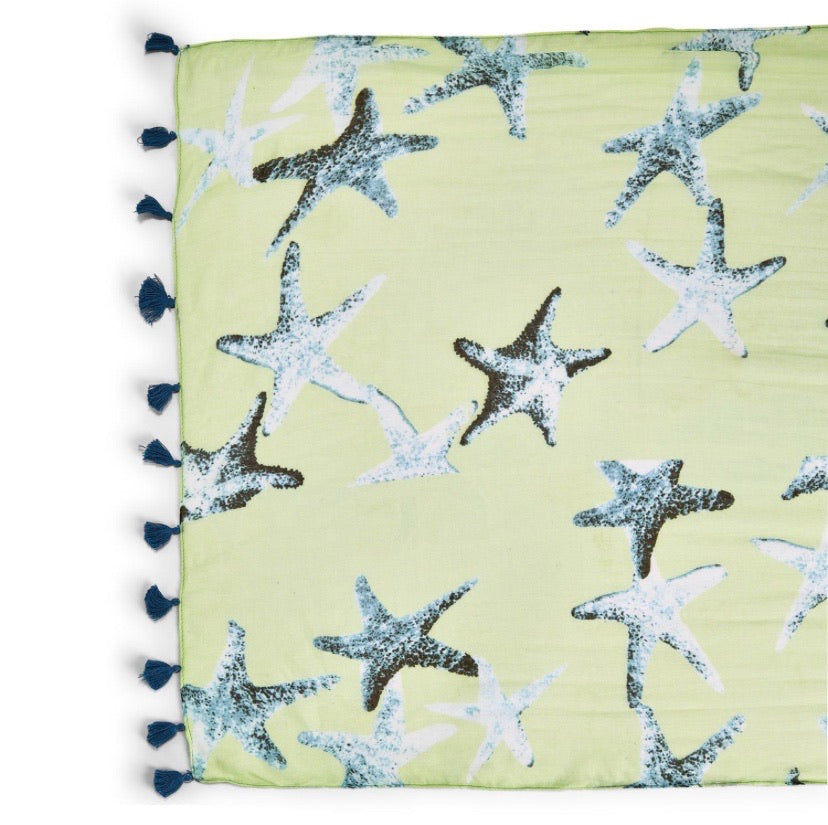Twos Co Starfish Scarf (3 colors)