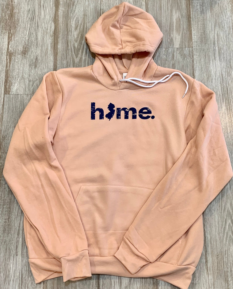 Home. With NJ ladies classic hooded sweatshirt