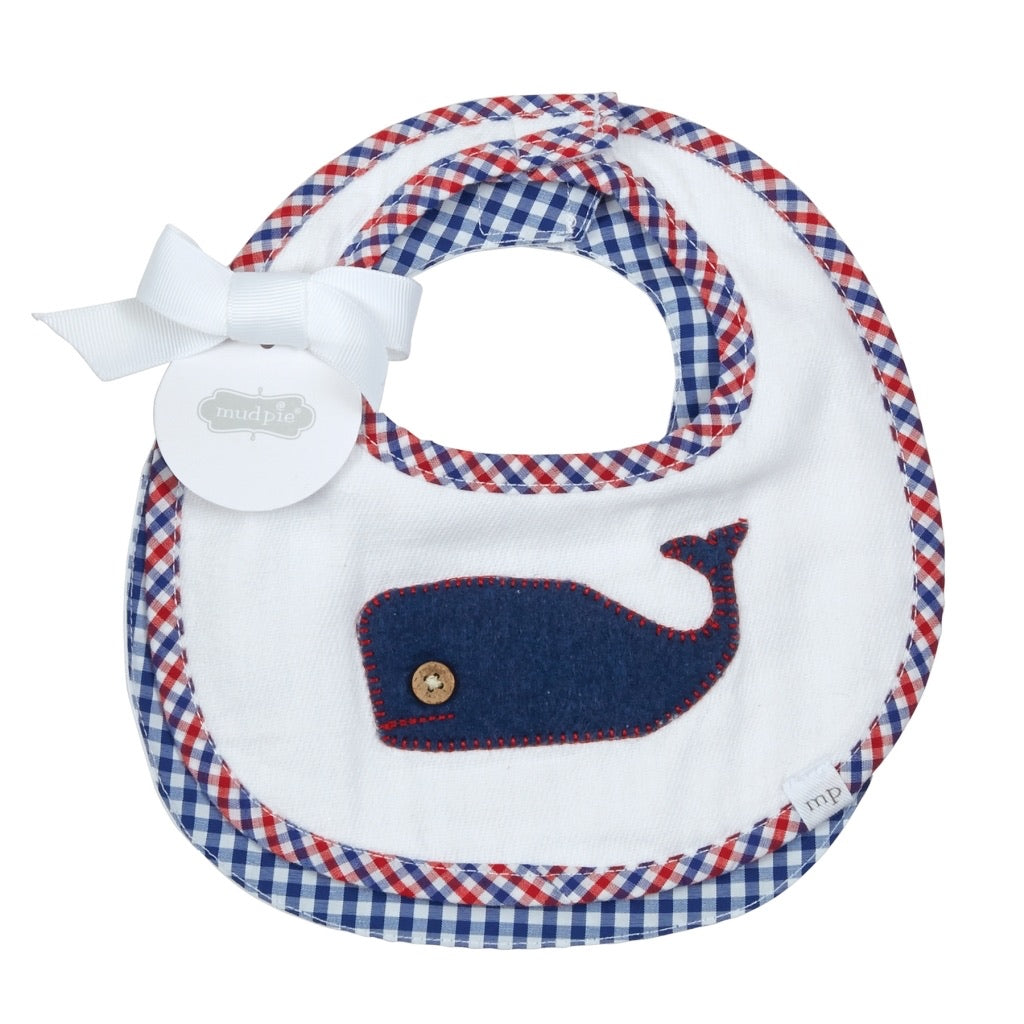 MudPie Sail Away 2 piece bib set (2 options)
