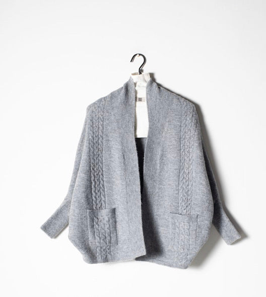 Cable Cape Cardigan