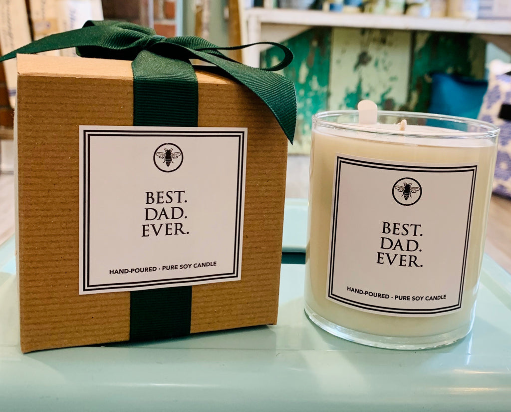 Ella B. Best Dad Ever candle