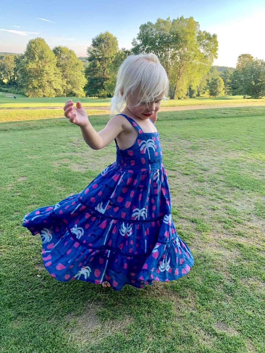 Girls Maxi Impanema Dress