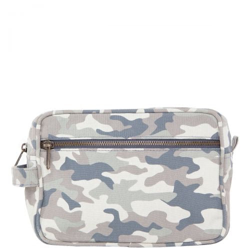 Canvas Lined Travel Kit- Camo