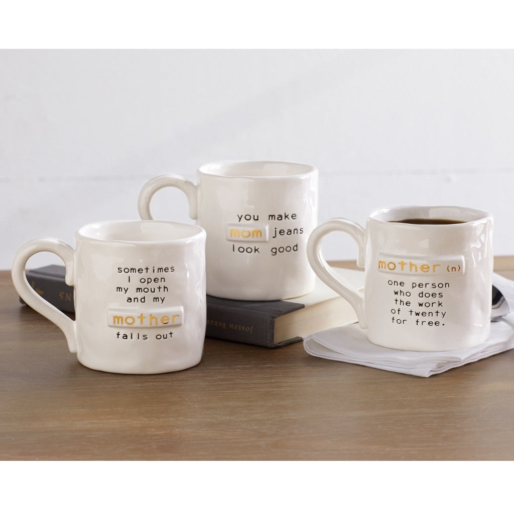 MudPie funny saying mom mug