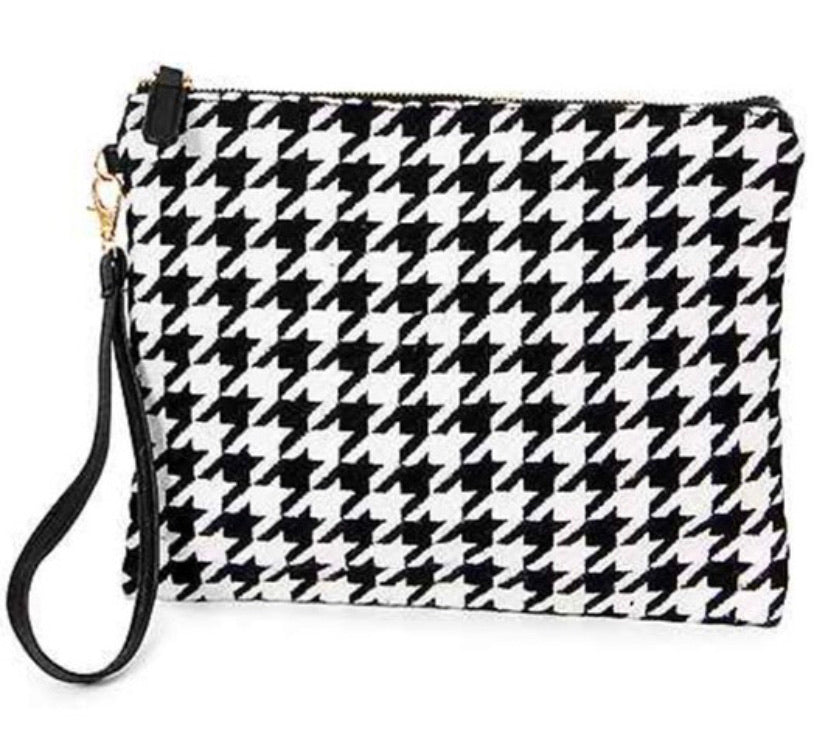 Houndstooth crossbody