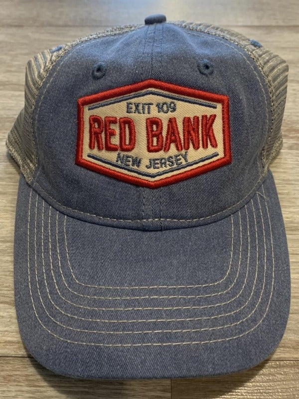 Red Bank Hat (2 colors)