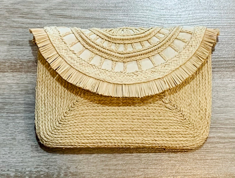 Handwoven Kris Clutch/crossbody