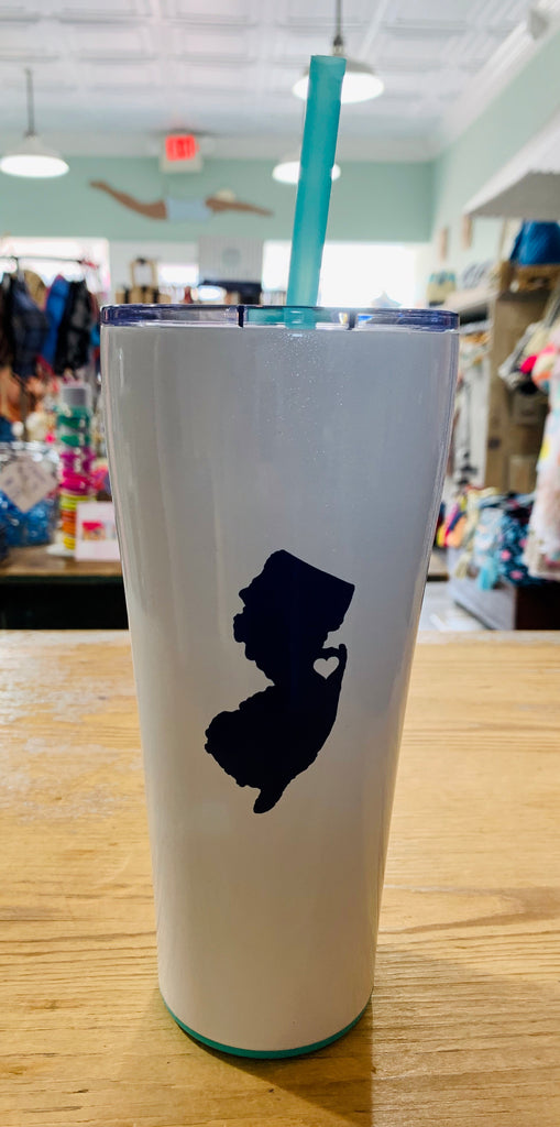 New Jersey heart 32oz hot/cold tumbler