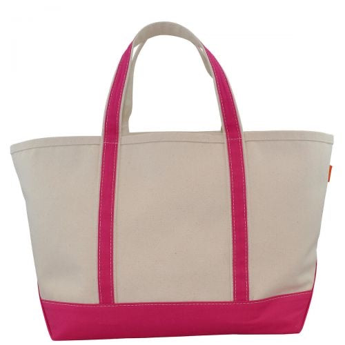 Large Canvas boat tote (more colors)