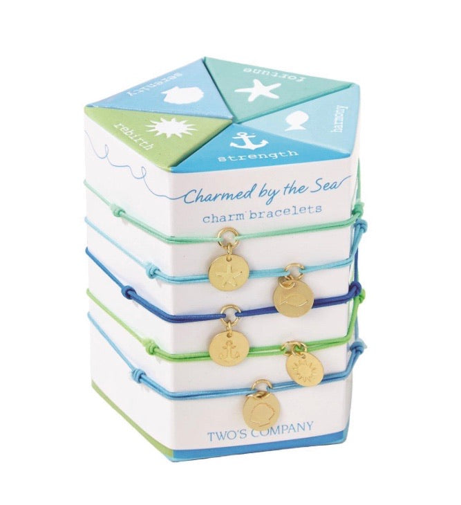 Twos Co charmed by the sea elastic bracelet set