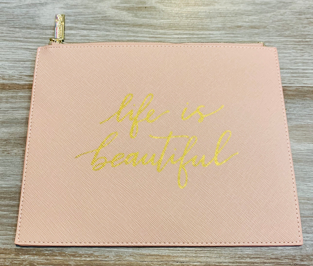 Life is Beautiful Clutch