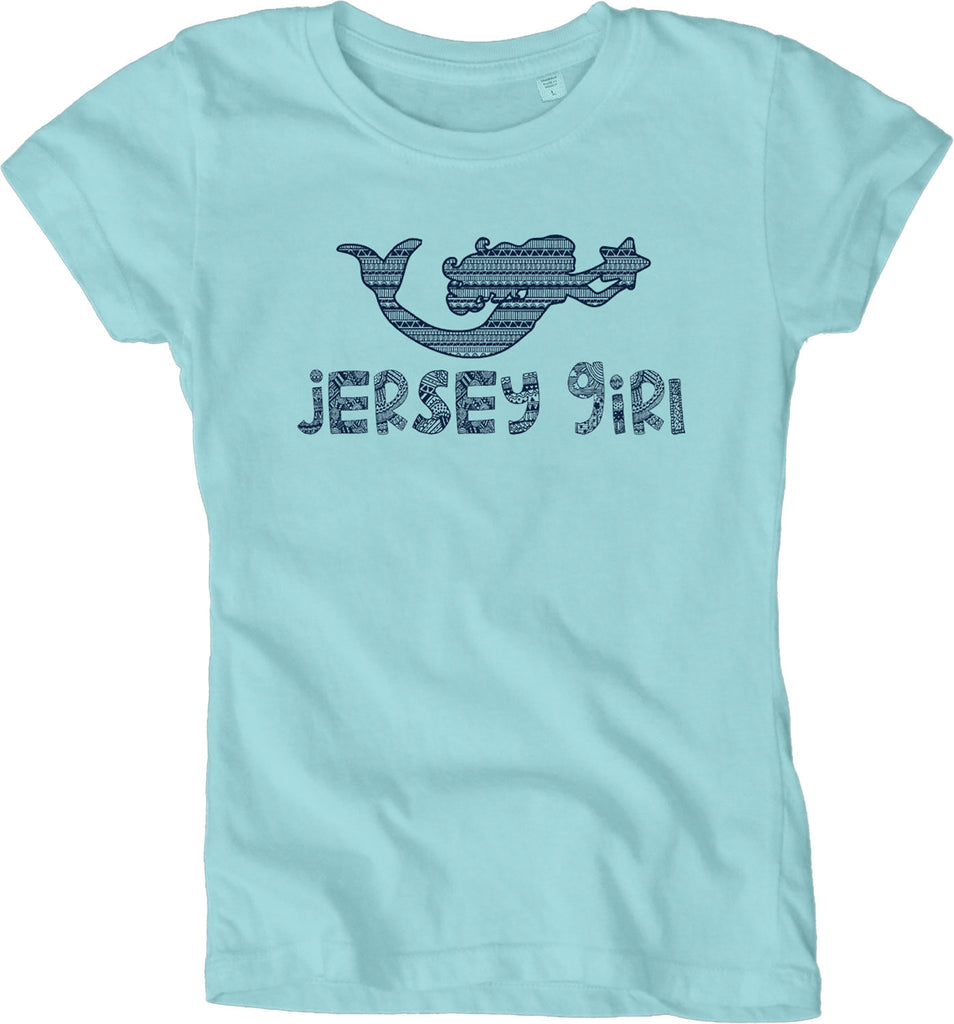 Jersey girl youth tee (two colors)