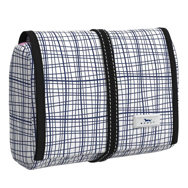 Scout Beauty burrito hanging toiletry bag (4 options)