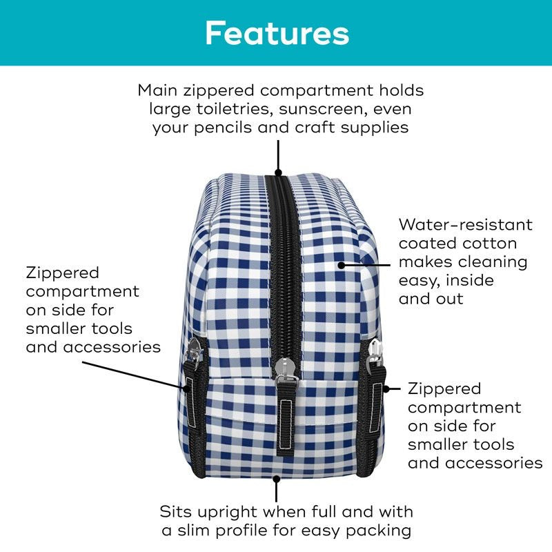 Scout 3 way toiletry bag