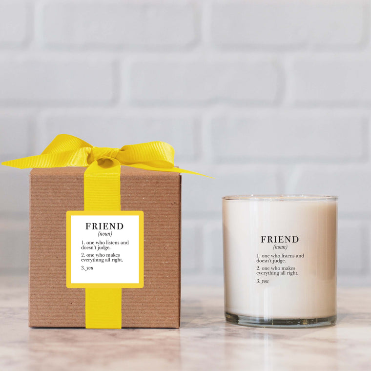 Ella B. Definition Friend candle