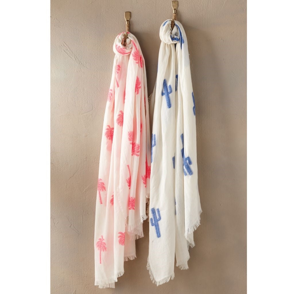 MudPie Jacquard Icon Scarf (2 colors)