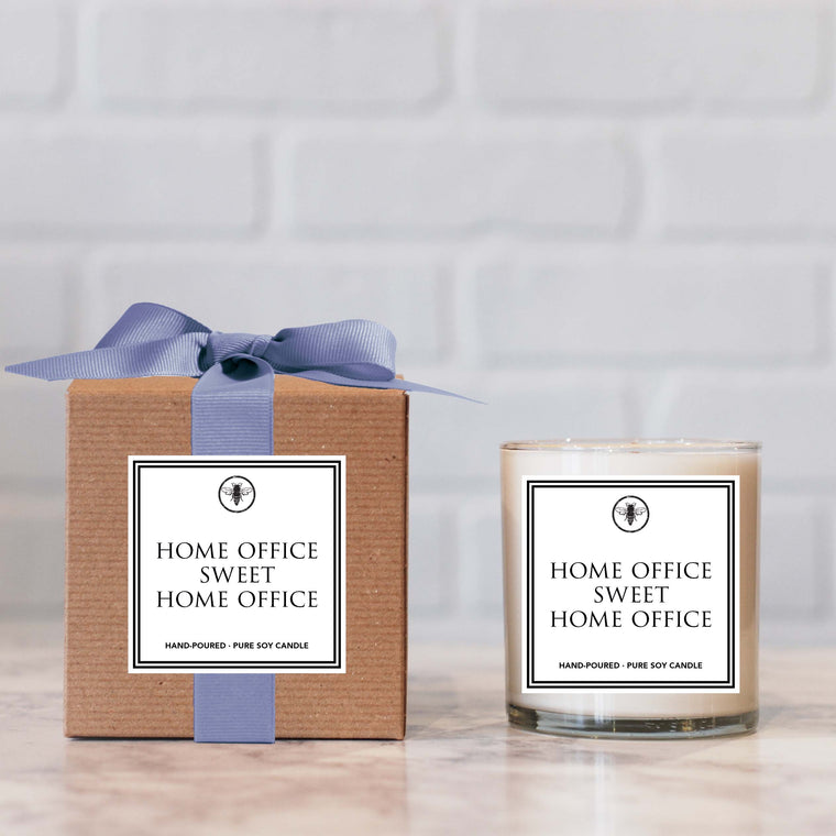 Ella b home office home sweet office candle