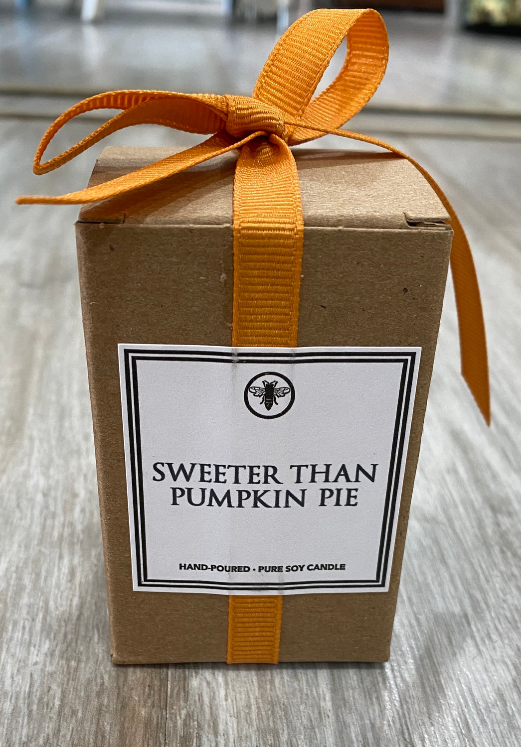 Sweeter than Pumpkin Pie Votive Candle