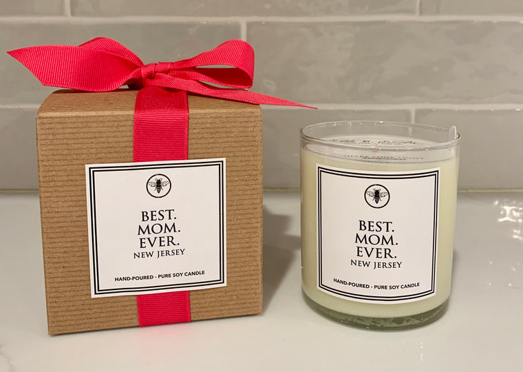 Ella B Best Mom Ever candle