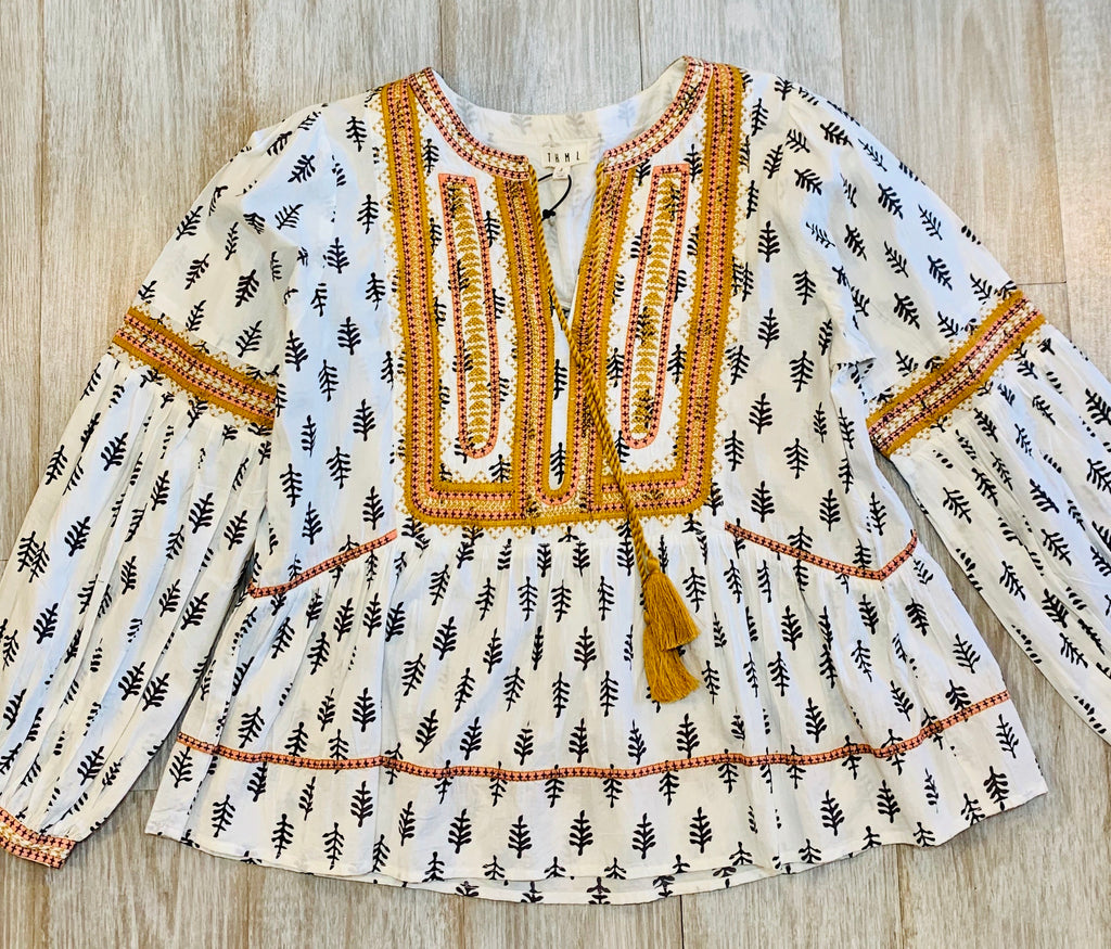Thml patterned tunic